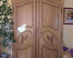 Armoire provençale en chêne